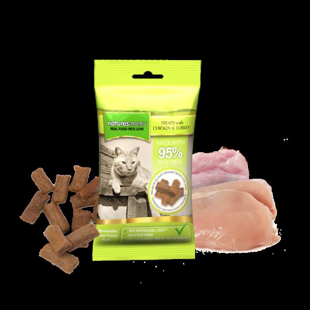 Huhn & Pute Echtfleich-Leckerlie