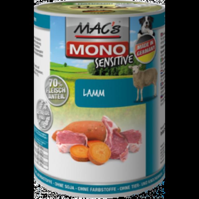 MACs Mono Sensitiv Lamm 400g